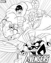 Marvel Coloring Book Download Lego Avengers Pages