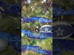 Our COWBOYS Christmas Tree
