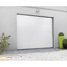 porte sectionnelle sur mesure porte de garage leroy merlin