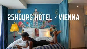 100 25 Hours Hotel Vienna MuseumsQuartier Room Tour YouTube