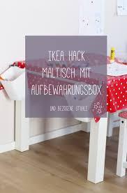 diy ikea hack maltisch mit stühlen für kinder stehsternchen