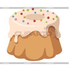 süßigkeiten kuchen mit topping und süßigkeiten stock