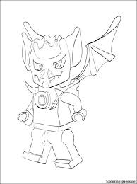 Lego Chima Blista Coloring Page