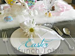 Easter Brunch Table Ideas