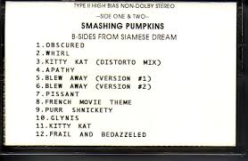 Smashing Pumpkins Rarities And B Sides Cd by B Sides From Siamese Dream Spfreaks