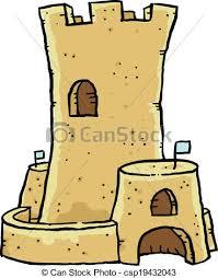 Sand Castle A Cartoon