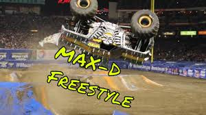 100 Monster Truck Backflip Jam 2017 MaxD Freestyle BackFlip YouTube