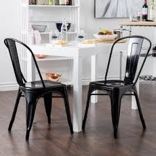 black kitchen dining chairs you ll love wayfair