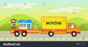 Moving Truck Trailer Cute Vector Illustration Stock Vector ... Moving Truck Image Free Download Clip Art On How To Start Your Own Business Wther Or Not To Rent A Storage Facilities At American Self Communities Many Interesting Cliparts Bellhops 16 Meet Pinterest For In Clovis Ca What You Need Take Picture Of When Drive Minisafestorage Choosing The Right Sized Moving Truck Sierras Glen Rentals Trucks Just Four Wheels Car And Van Cboard Boxes House Vector