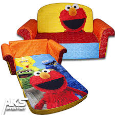 Kids Flip Open Sofa by Elmo Chair Muppets Sesame Street Ebay Tehranmix Decoration