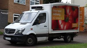 File:2014 Mercedes-Benz Sprinter 313 CDi Sainsbury's Delivery Van ...