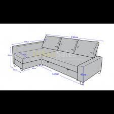 chic friheten sofa bed box dimensions on small home decoration