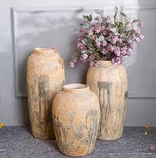 keramik bodenvasen set 3 teilig für wohnzimmer oder garten