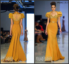 mermaid prom pageant dresses 2015 mustard lace sweetheart