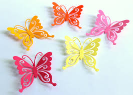 Colorful Butterfly Wall Decor