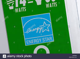 Energy Star Label Reflecting The High Degree Of Efficiency Saving