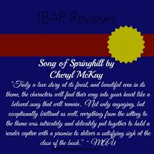 TBAP Endorsement For Song Of Springhill