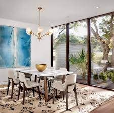 Rooms With Oversized Art 10 Dining Room Contemporary