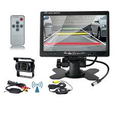 WIRELESS REAR VIEW Back Up Camera Night Vision System + 7