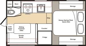 Spectacular Design Small Camper Floor Plans 13 OKANAGAN On Tiny Home