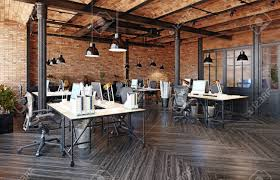 104 Interior Design Loft Modern Office Concept 3d Rendering Stock Photo Picture And Royalty Free Image Image 114224822