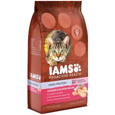 high protein cat food iams proactive health high protein cat food 6 0 pounds
