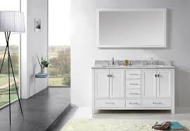 46 Inch Double Sink Bathroom Vanity by Virtu Gd 50060 Wmsq Wh Caroline Avenue Double Bathroom Vanity