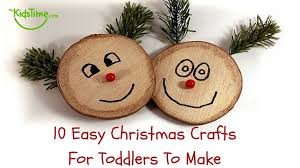 10 Easy Christmas Crafts For Toddlers To Make