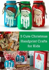Handprints With Paint Are The Perfect Christmas Crafts For Kids