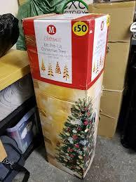 7ft Pre Lit Christmas Tree Homebase by 6ft Pre Lit Christmas Tree In Gartcosh Glasgow Gumtree