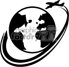 Travel Clipart Airplane Flying 7