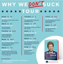 Why We Don't Suck' Tour Dates | MSNBC Ginger Zee On Twitter My Book Comes Out December 5 Come See Me Amazing Otis Vintage Traction Elevator At The Loraine Building Grand Rapids Michigan Where To Stay Eat Do Climbing Grier The World Of Sarah J Maas Sarah Maas Is Headed Tour Schindler Barnes Noble Woodland Mall Shoppers Flood Buy Copies Of Going Rogue Magazine Features Fuchsia Design Photography Karen Dionne Greater Detroit Mi 2018 Savearound Coupon Book Bks Stock Price Financials And News Fortune 500 Why We Dont Suck Dates Msnbc Signings Anaphora Literary Press