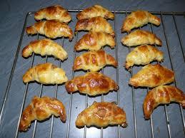 minis croissants à la pâte feuilletée express cuisinetimo