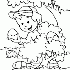 Original Happy Easter Coloring Pages At Affordable Article