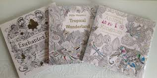 Johanna Basford Coloring Books Enchanted Tropical Wonderland Animal Kingdom With Pencil Colouring To Print Printable From Holsaler