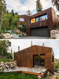 100 Modern Rustic Architecture 13 Houses That Have Weathering Steel Exteriors