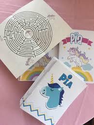 Libro Para Colorear Temática Unicornio Y Mandalas Pdf 15000 En