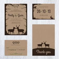 Ahnliche Artikel Wie Woodland Wedding Invite