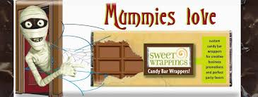 Halloween Candy Tampering 2014 by Personalized Candy Wrappers And Party Favors By Sweet Wrappings