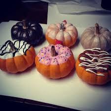 Dunkin Donuts Pumpkin Donut Recipe by Painted Pumpkin Donuts Ideas Google Search Halloween Treats