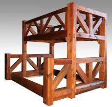 custom bunk beds simple barnwood bunk bed timber style timberbunk