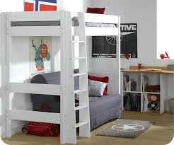 lit mezzanine avec canapé convertible fixé lit en hauteur avec canape lit enfant mezzanine lit mezzanine avec