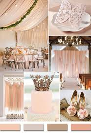 Blush Pink Inspired Chic Rustic Wedding Color Ideas And Laser Cut Invitations