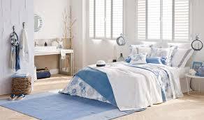 chambre style marin idées déco estivale de style marin pour une maison de vacances