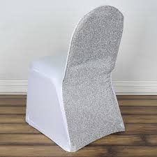 Details About 40 PCS Spandex Stretch Banquet Chair Cover With Metallic  Glitter Slipcover Silver Stretch Spandex Banquet Chair Cover Balsacircle 50 Pcs White Polyester Covers For Party Wedding Linens Decorations Dning Ceremony Reception Supplies Hunter Green 57 Lifetime Folding Fuchsia Free Shipping Whosale 100pcs Universal Arm With For Plastic Outdoor Slipcovers Ivory Your Champagne Slip Premium Quality Ruched Fashion Ebay Sponsored 10pcs Scuba