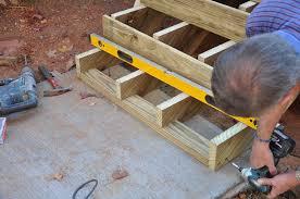decks com anchoring deck stairs