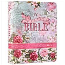 My Creative Bible KJV Silken Flexcover For Journaling