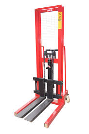 100 Hydraulic Hand Truck 1Ton 2 Ton Forklift With Pallet Manual Stacker