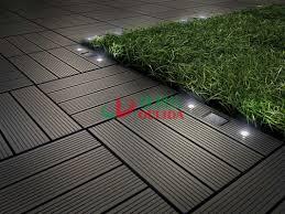 interlocking composite deck tiles wood plastic composite solar