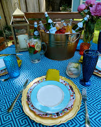 Sadie + Stella: Summer Series With Lindsay & Courtney: Outdoor Decor Ding Beautiful Colors And Finishes Of Stoneware Dishes 2017 Best 25 Outdoor Dinnerware Ideas On Pinterest Industrial Entertaing Area The Sunny Side Up Blog Dinnerware Yellow Create My Event Drinkware Rustic Plate Plates And 11 Melamine Cozy Table Settings Stress Free Plum Design Red Platters Serving Tiered Pottery Barn
